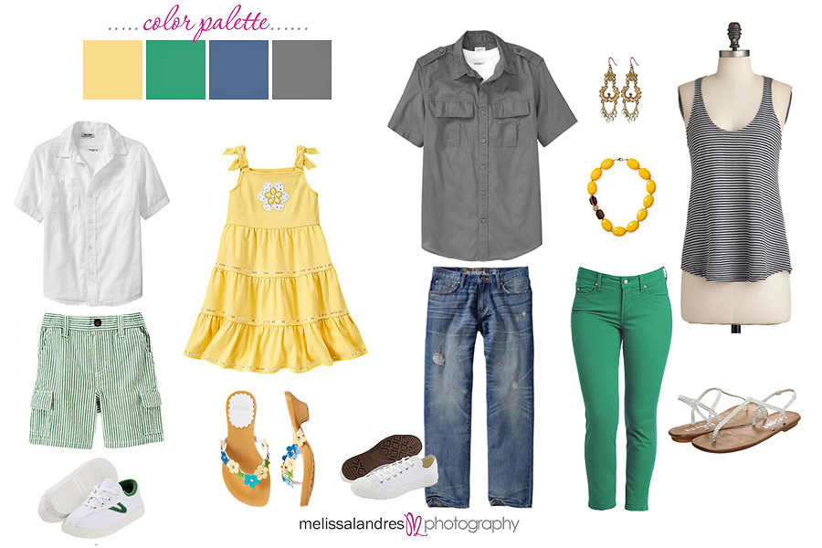 What to Wear for { summer } photos with Melissa Landres ...