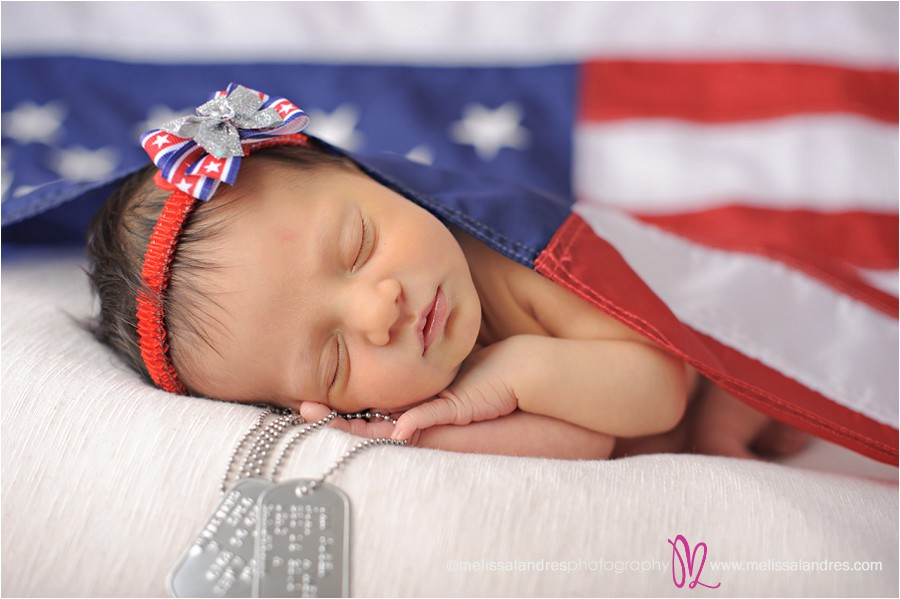 Happy Fourth Of July Baby Photographer Newborn Baby And