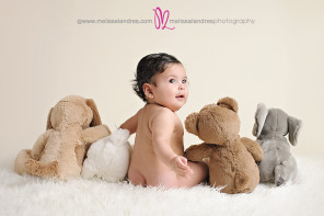 cutest 6 month baby pictures, Indio baby photographers Melissa Landres Photography
