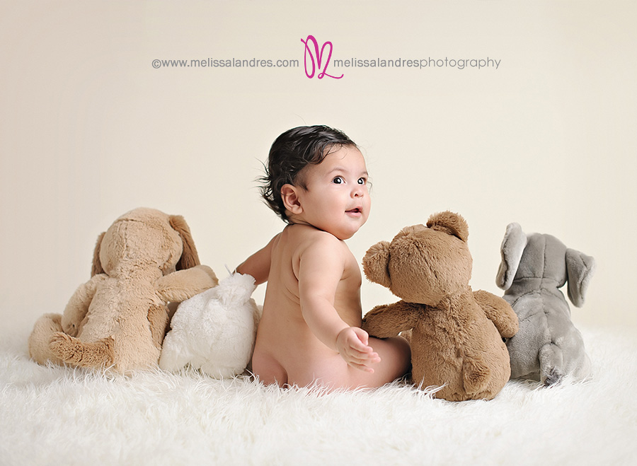 Cutest 6 month baby pictures indio baby photographers melissa landres photography