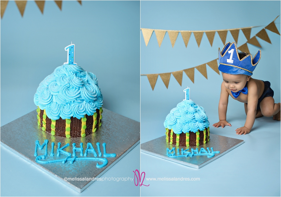 Happy Birthday Baby Cake Smash Newborn Baby And Maternity