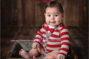 Valentines baby photos by professional baby photographer Melissa Landres_0105